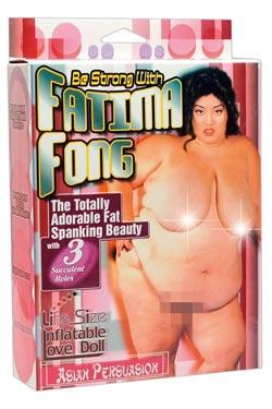 Billig sexdocka som liknar Fatima Fong